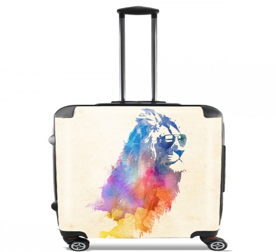 "Sunny Leo for Wheeled bag cabin luggage suitcase trolley 17"" laptop"
