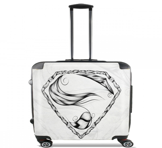 "Super Feather for Wheeled bag cabin luggage suitcase trolley 17"" laptop"