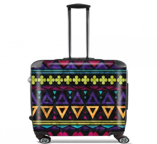 "Sweet Triangle Pattern for Wheeled bag cabin luggage suitcase trolley 17"" laptop"