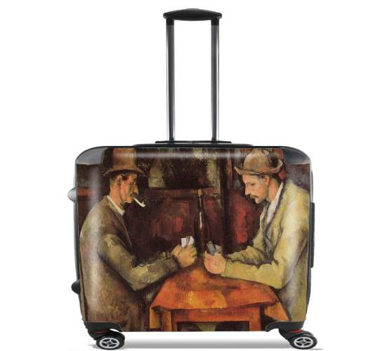 "The Card Players for Wheeled bag cabin luggage suitcase trolley 17"" laptop"