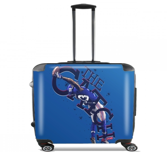"The Catch NY Giants for Wheeled bag cabin luggage suitcase trolley 17"" laptop"
