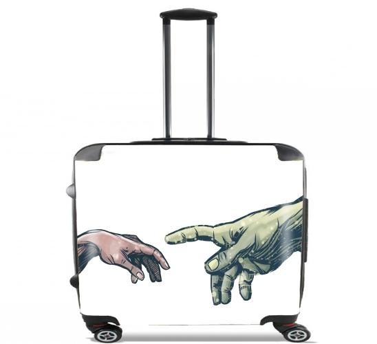 "The Creation of Dr. Banner for Wheeled bag cabin luggage suitcase trolley 17"" laptop"