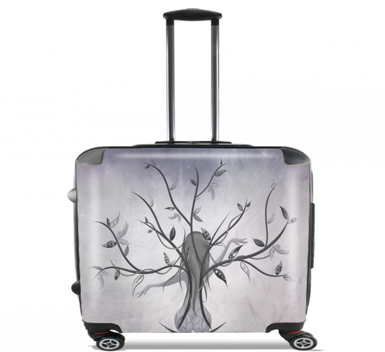 "The Dreamy Tree for Wheeled bag cabin luggage suitcase trolley 17"" laptop"