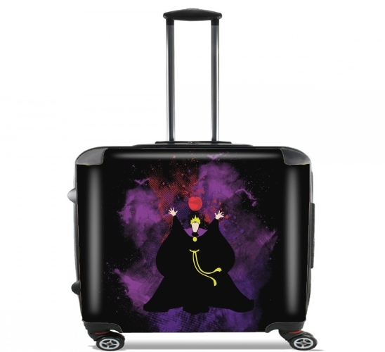 "The Evil apple for Wheeled bag cabin luggage suitcase trolley 17"" laptop"