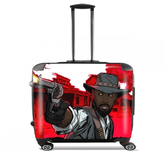 "The Gunslinger for Wheeled bag cabin luggage suitcase trolley 17"" laptop"