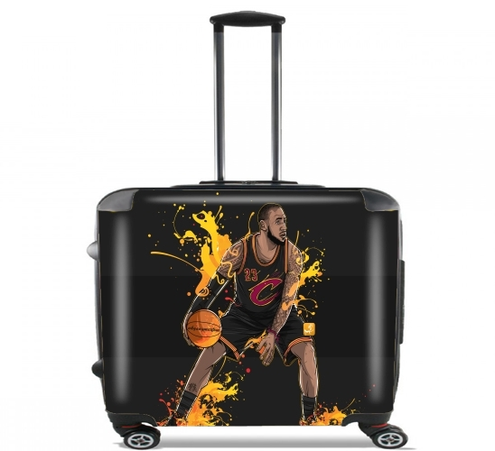 "The King James for Wheeled bag cabin luggage suitcase trolley 17"" laptop"