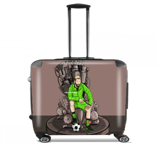 "The King on the Throne of Trophies for Wheeled bag cabin luggage suitcase trolley 17"" laptop"