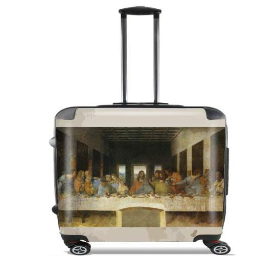 "The Last Supper Da Vinci for Wheeled bag cabin luggage suitcase trolley 17"" laptop"