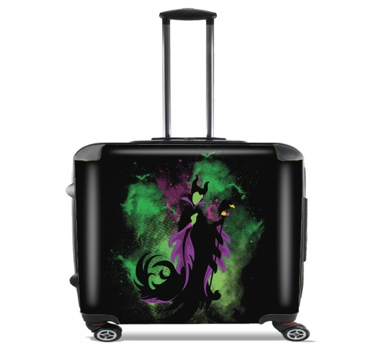 "The Malefica for Wheeled bag cabin luggage suitcase trolley 17"" laptop"