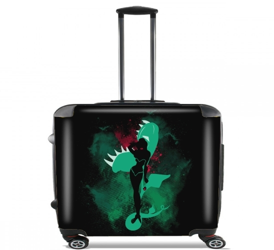 "The poison for Wheeled bag cabin luggage suitcase trolley 17"" laptop"