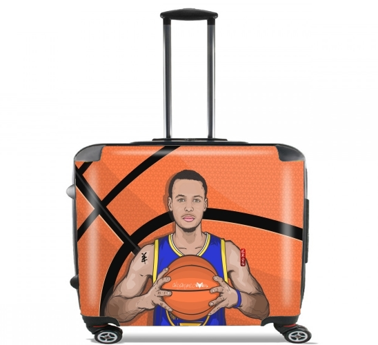 "The Warrior of the Golden Bridge - Curry30 for Wheeled bag cabin luggage suitcase trolley 17"" laptop"