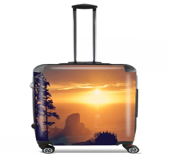 "This is Your World for Wheeled bag cabin luggage suitcase trolley 17"" laptop"