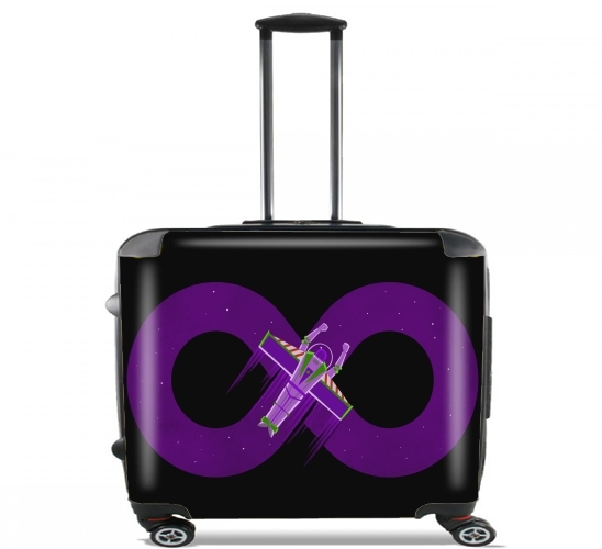 "To Infinity And Beyond for Wheeled bag cabin luggage suitcase trolley 17"" laptop"
