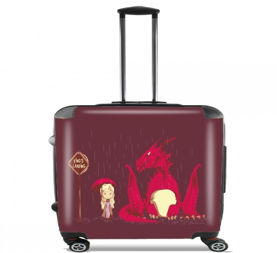 "To King's Landing for Wheeled bag cabin luggage suitcase trolley 17"" laptop"
