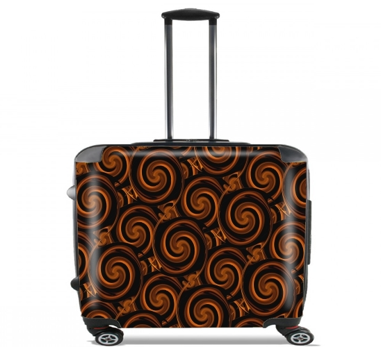 "Toffee Madness for Wheeled bag cabin luggage suitcase trolley 17"" laptop"