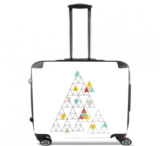 "Triangle - Native American for Wheeled bag cabin luggage suitcase trolley 17"" laptop"