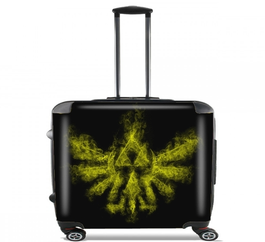 "Triforce Smoke Y for Wheeled bag cabin luggage suitcase trolley 17"" laptop"