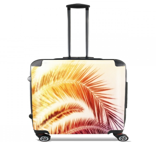 "TROPICAL DREAM - RED for Wheeled bag cabin luggage suitcase trolley 17"" laptop"