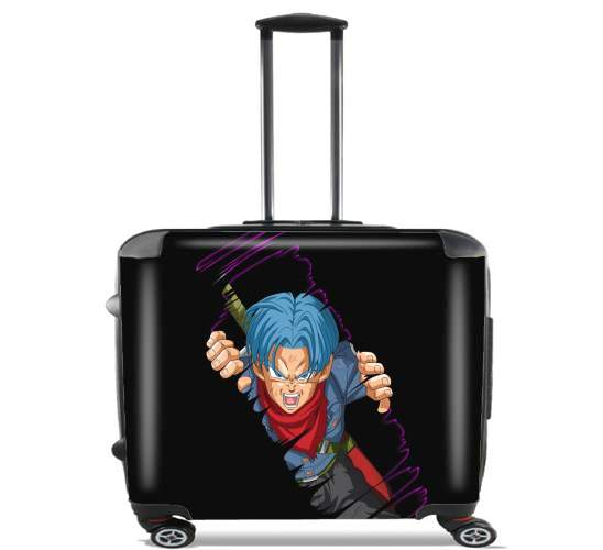 "Trunks is coming for Wheeled bag cabin luggage suitcase trolley 17"" laptop"