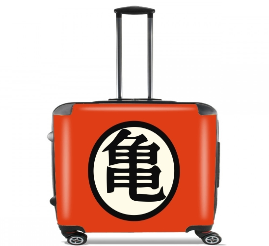 "turtle symbol for Wheeled bag cabin luggage suitcase trolley 17"" laptop"