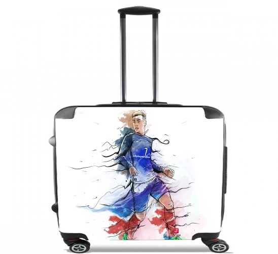 "Vive la France, Antoine!  for Wheeled bag cabin luggage suitcase trolley 17"" laptop"