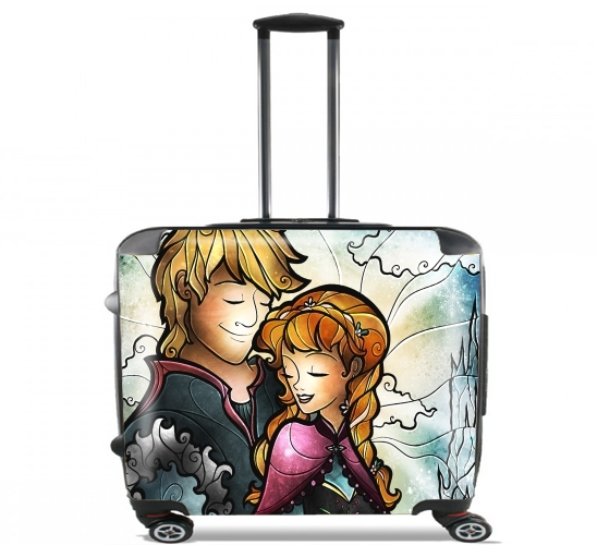 "We found love in a frozen place for Wheeled bag cabin luggage suitcase trolley 17"" laptop"