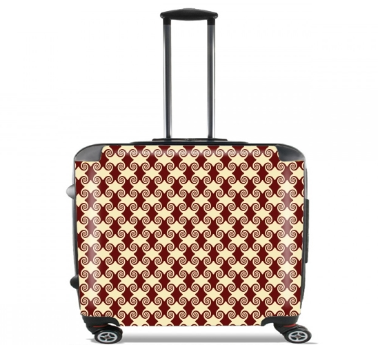 "WHIRLY CURLS for Wheeled bag cabin luggage suitcase trolley 17"" laptop"