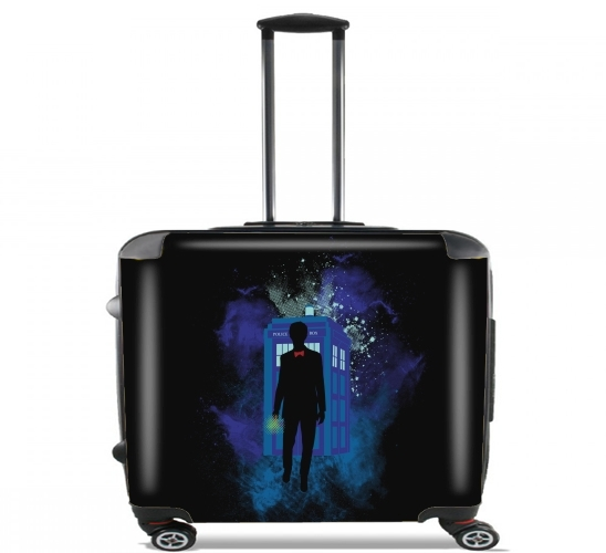 "Who Space for Wheeled bag cabin luggage suitcase trolley 17"" laptop"