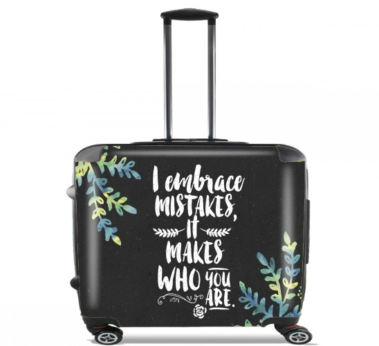 "Who you are for Wheeled bag cabin luggage suitcase trolley 17"" laptop"