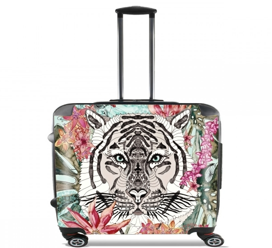 "WILD THING for Wheeled bag cabin luggage suitcase trolley 17"" laptop"