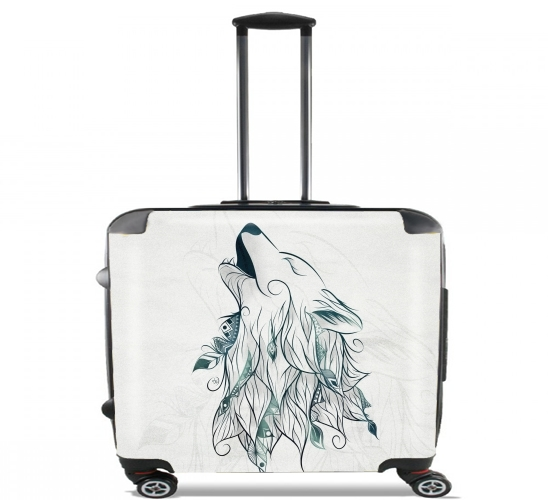 "Wolf  for Wheeled bag cabin luggage suitcase trolley 17"" laptop"