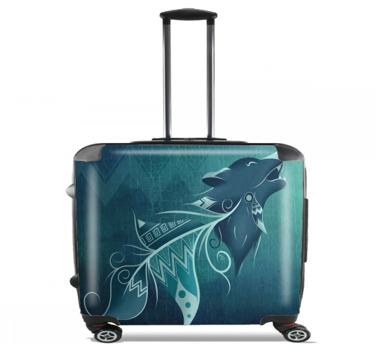 "Wolfeather for Wheeled bag cabin luggage suitcase trolley 17"" laptop"
