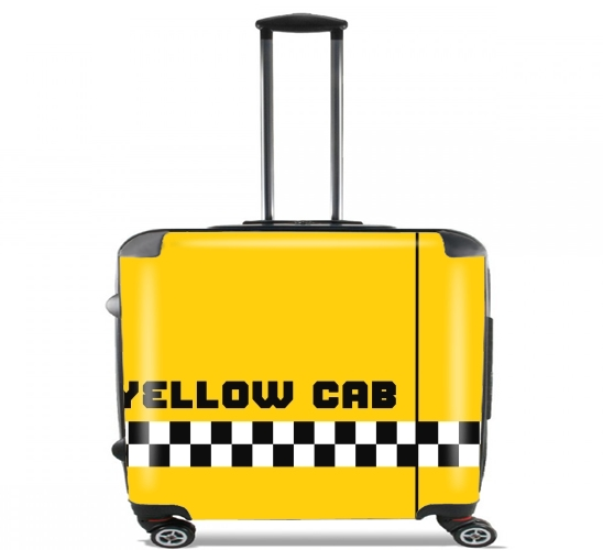 "Yellow Cab for Wheeled bag cabin luggage suitcase trolley 17"" laptop"
