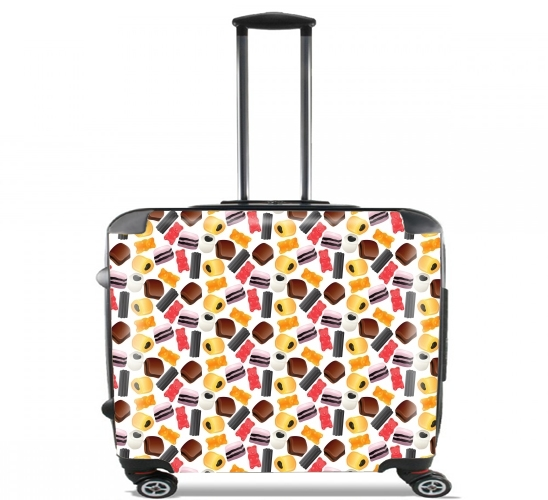 "Yummy for Wheeled bag cabin luggage suitcase trolley 17"" laptop"
