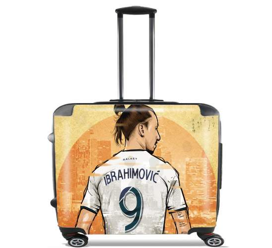 "zLAtan Los Angeles  for Wheeled bag cabin luggage suitcase trolley 17"" laptop"