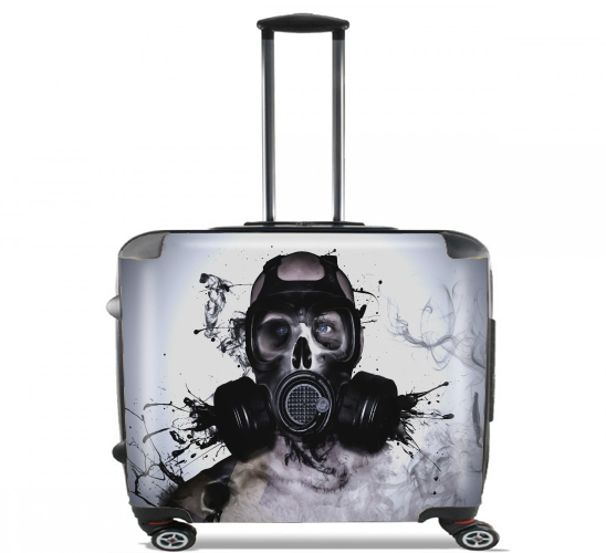 "Zombie Warrior for Wheeled bag cabin luggage suitcase trolley 17"" laptop"