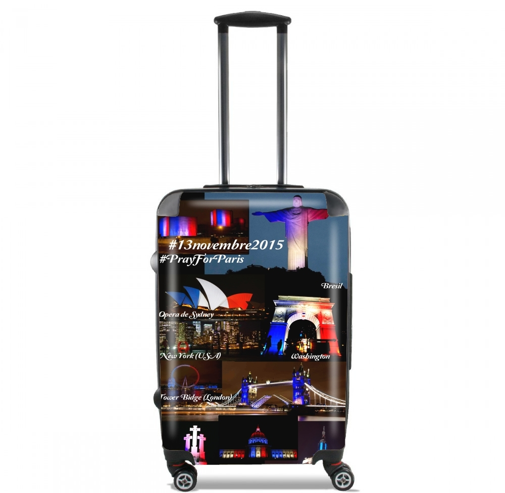 13 Novembre 2015 - Pray For Paris for Lightweight Hand Luggage Bag - Cabin Baggage
