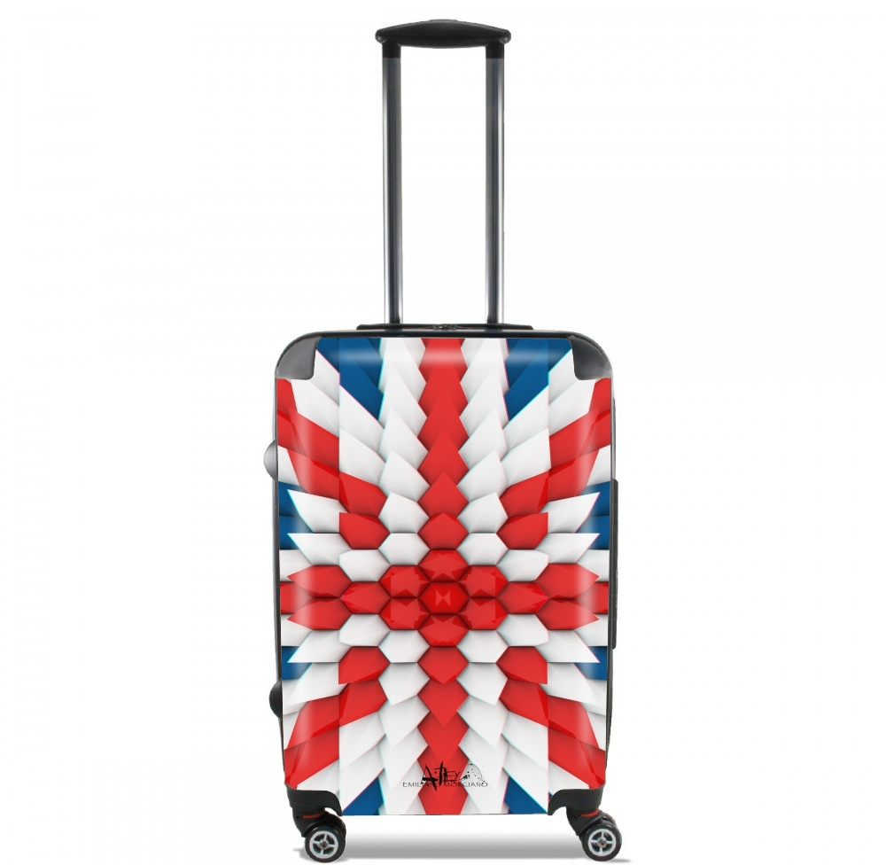 3D Poly Union Jack London flag for Lightweight Hand Luggage Bag - Cabin Baggage