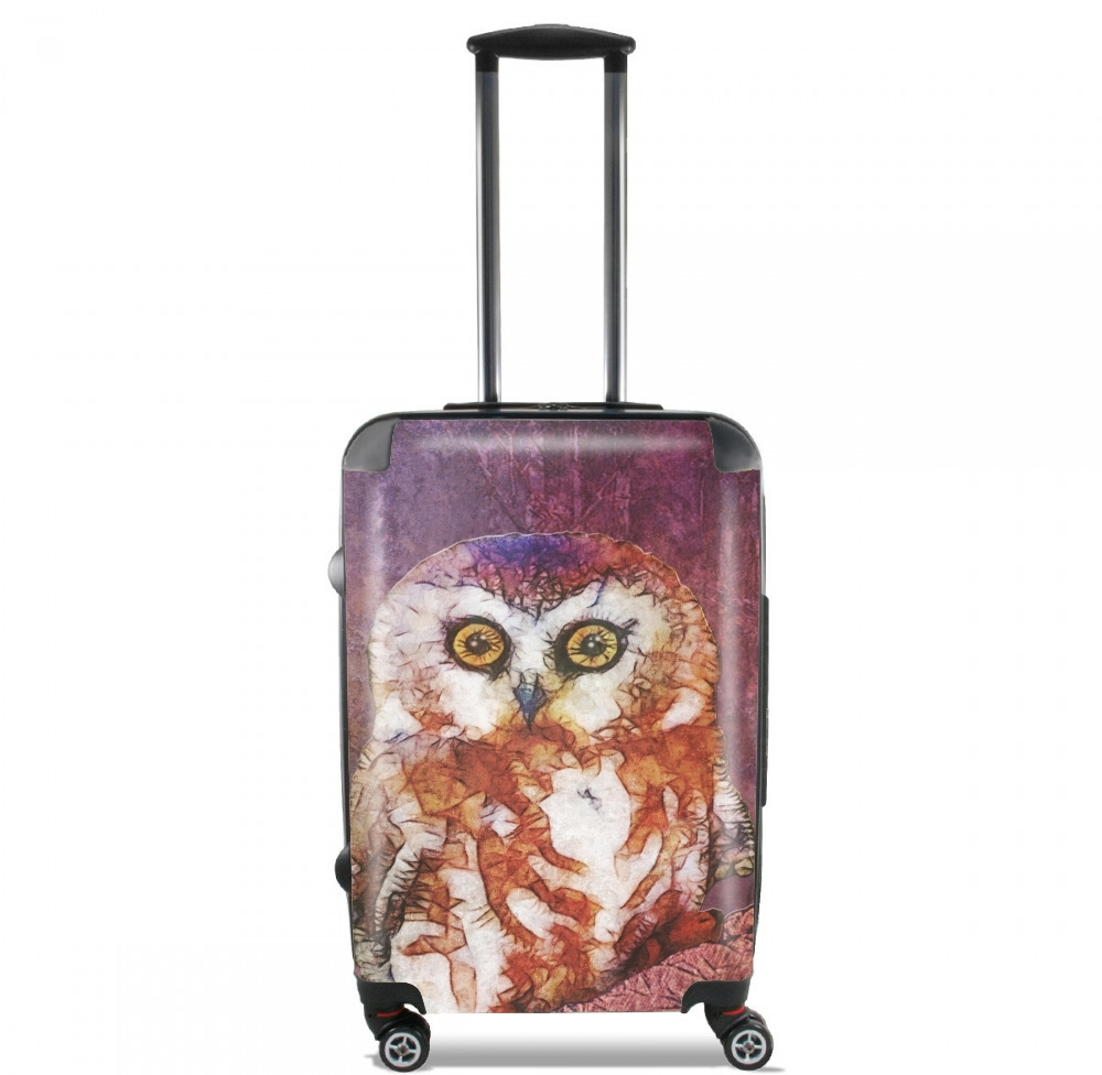 abstract cute owl for Lightweight Hand Luggage Bag - Cabin Baggage