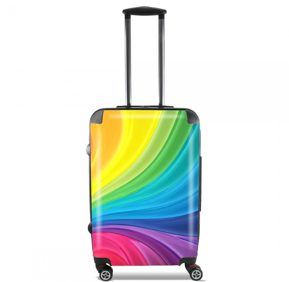 Rainbow Abstract for Lightweight Hand Luggage Bag - Cabin Baggage