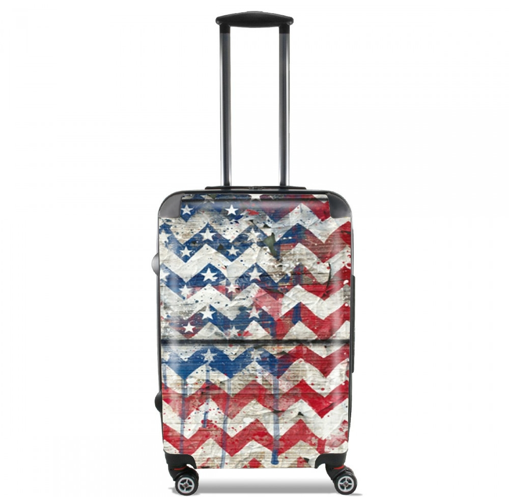 American Chevron for Lightweight Hand Luggage Bag - Cabin Baggage