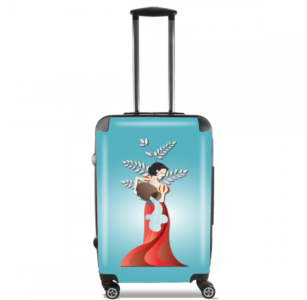 Aquarius - Snow White for Lightweight Hand Luggage Bag - Cabin Baggage
