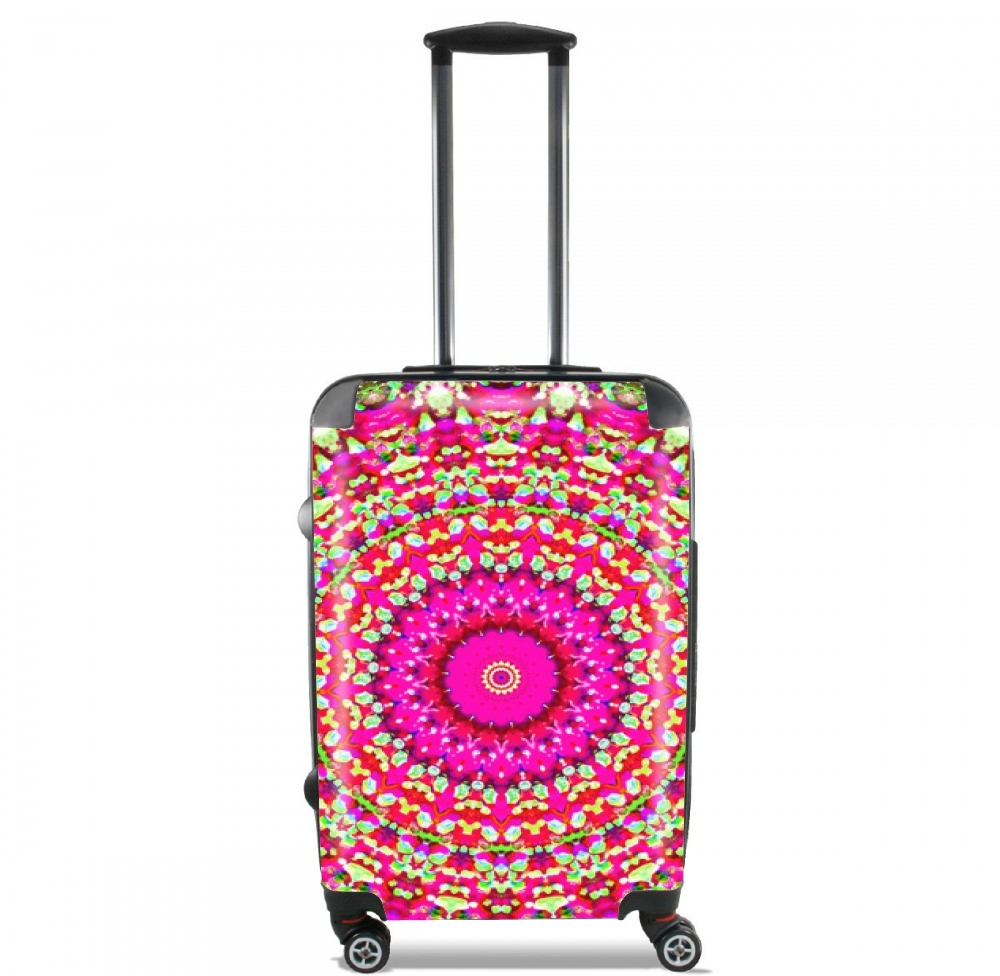 Arabesque Neon Green and Pink for Lightweight Hand Luggage Bag - Cabin Baggage