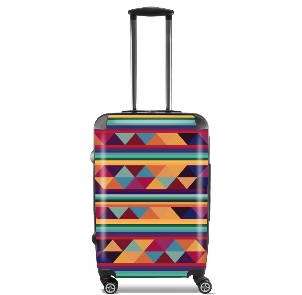 Aztec Pattern Pastel for Lightweight Hand Luggage Bag - Cabin Baggage