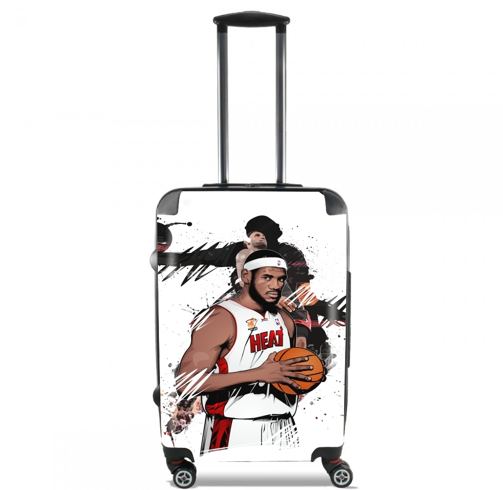 Basketball Stars: Lebron James for Lightweight Hand Luggage Bag - Cabin Baggage