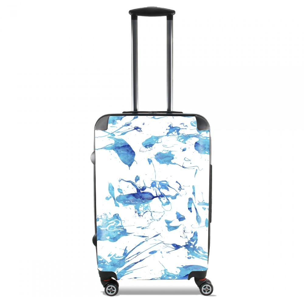 Blue Splash for Lightweight Hand Luggage Bag - Cabin Baggage