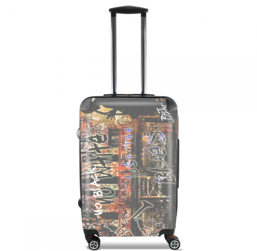 Blues Music By Brozart for Lightweight Hand Luggage Bag - Cabin Baggage
