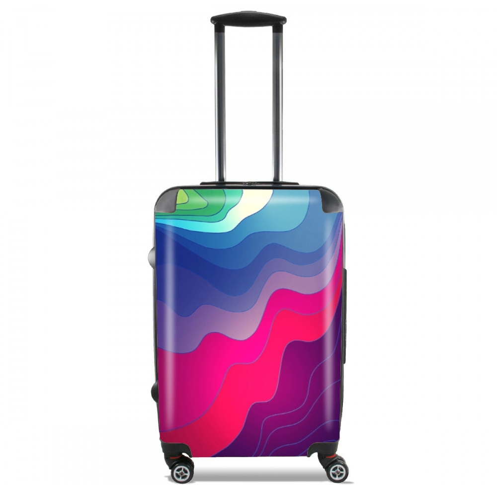 Blurred Lines for Lightweight Hand Luggage Bag - Cabin Baggage
