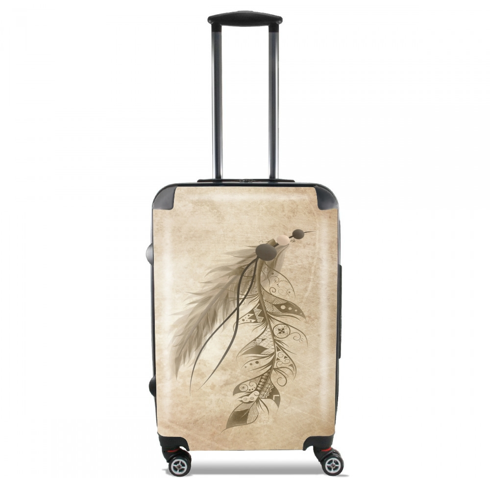 Boho Feather for Lightweight Hand Luggage Bag - Cabin Baggage