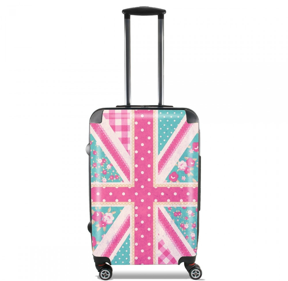 British Girls Flag for Lightweight Hand Luggage Bag - Cabin Baggage